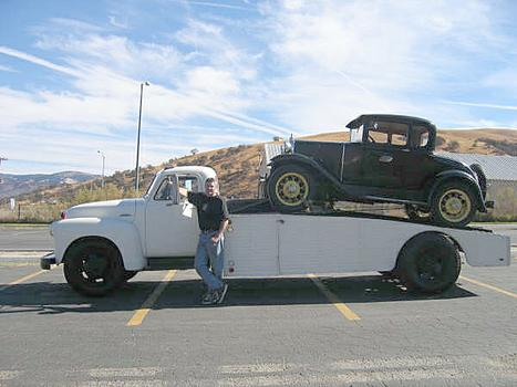 53 Chevy Ramp Truck + 31 Ford