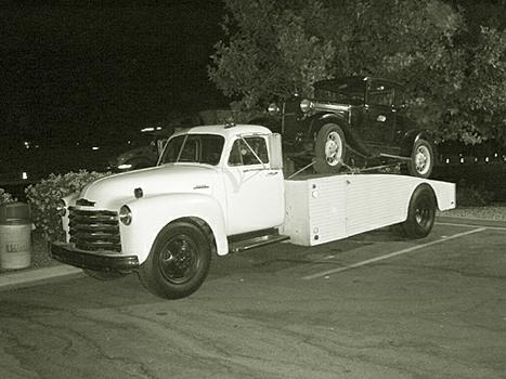 1953 Chevy Ramp Truck