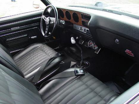 70 Pontiac GTO Judge interior
