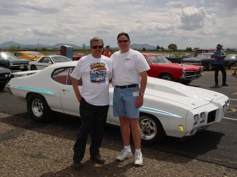 Milt Schornack Pontiac Racer