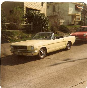 66 Ford Mustang Convertible