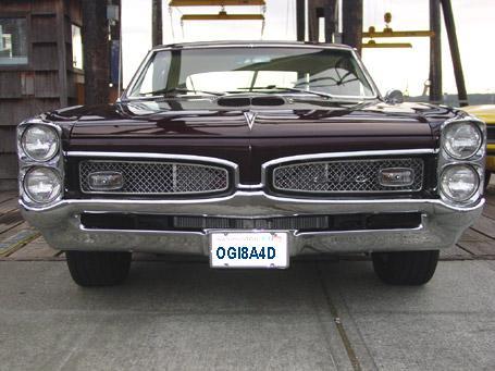 1967 Pontiac GTO Rodney Red