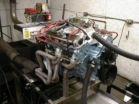 Pontiac GTO 400 dyno