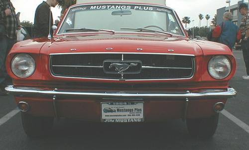 Ford Mustang Year Identification 64