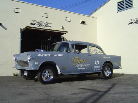 Lion's X Gasser 301 SB, Muncie 4 Speed, Straight Axle, Pontiac 410 Posi Rear