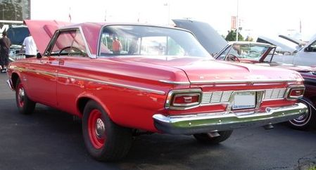 1964 plymouth belvedere max wedge