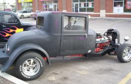 1929 Essex Coupe Rat Rod