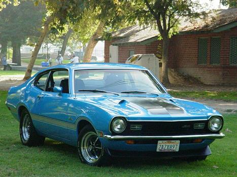 1971 Ford Maverick Grabber. 1971 Ford Maverick Grabber