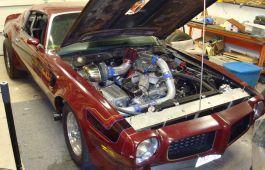 Turbocharged Pontiac Trans Am