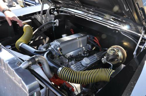 1957 Chevy 150 with Fuel Injection