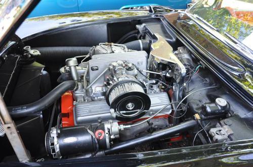 1957 Chevy Corvette 283 HP 283 ci  4520 Rochester fuel injection 4.11 Posi