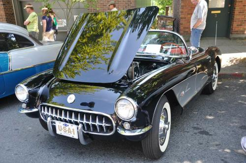 1957 Chevy Corvette 283 HP 283 ci  4520 Rochester fuel injection 4.11 Posi