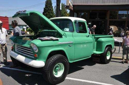 1956 Chevy 3100 4WD Pickup