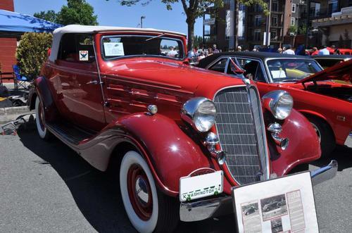 1934 Husdon Roadster