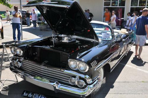 1958 Chevy Impala Convertible 348 tri-power