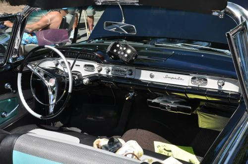 1958 Chevy Impala Convertible 348 tri-power
