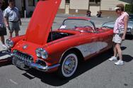 1959 Chevy Corvette with mechanical fuel injection