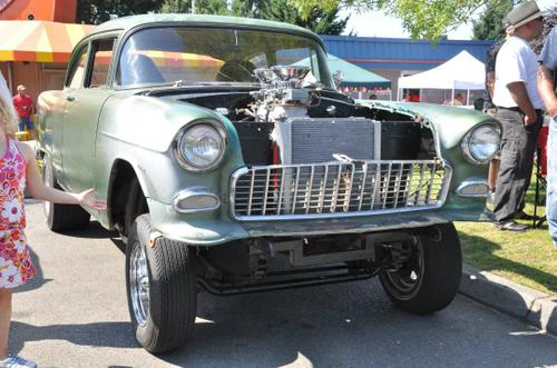 1955 Chevy Straight Axle Gasser