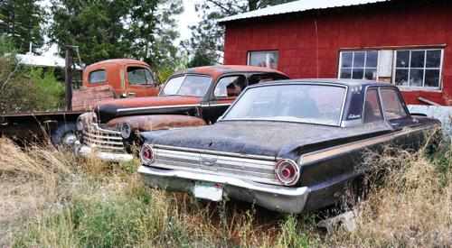 1948 Ford,  1963 Ford Fairlane