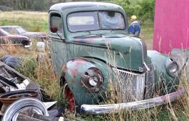 Barn Find - 1940 Ford Pickup