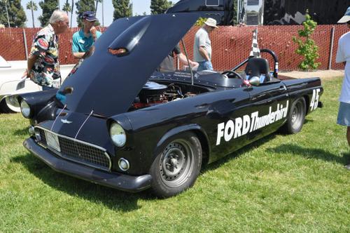 1956 Ford Thunderbird clocked 136.003 MPH by NASCAR officials at Daytona Beach o
