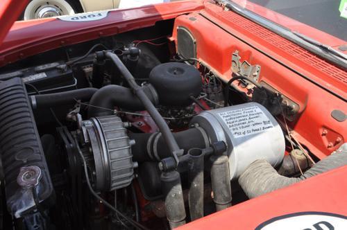1957 Ford Custom, exact replica of the one Glenn