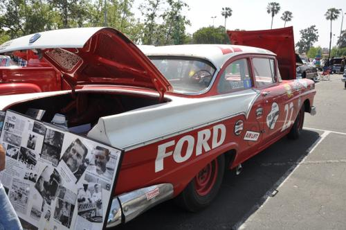 1957 Ford Custom, exact replica of the one Glenn