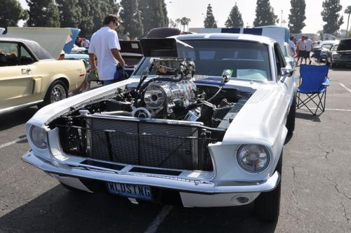 Blown 1967 Ford Mustang