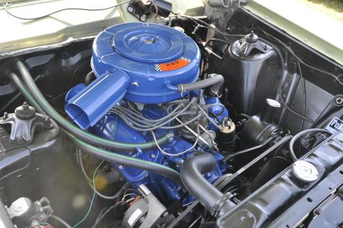 1966 Ford Falcon Futura Sport Coupe with factory 289 and 4-speed