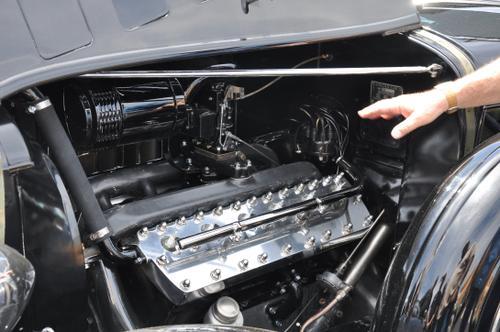 1934 Lincoln Limousine 4-window Berlin Lincoln flathead V12