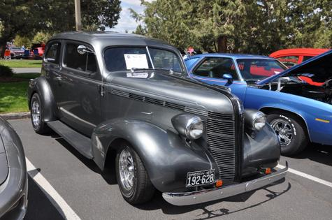 1937 Pontiac Touring Sedan