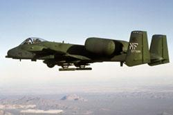 A-10, 1975. (U.S. Air Force photo)