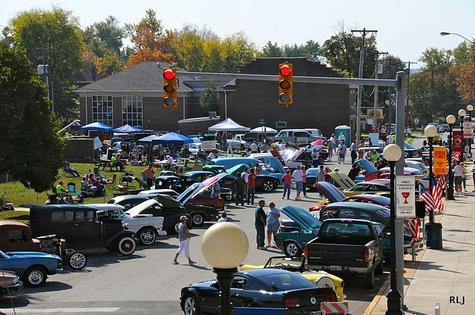 Bloomfield Apple Festival Car Show