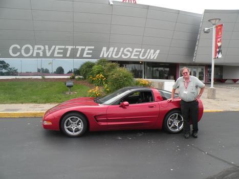 Gpmj S Magnetic Red 2001 Corvette