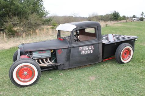 Related & Rat Rod Pickup w/Orig. Suicide doors - American Torque .com
