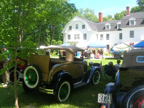 Parsonsfield Maine Car Show