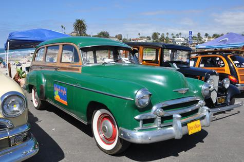 1950 Chevy Woodie