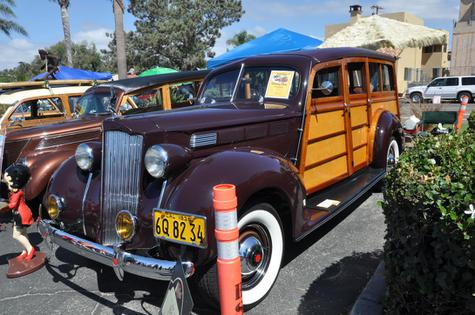 1938 Packard Model 1600 Station Wagon