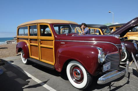 1941 Plymouth Model P12 Special Deluxe Station Wagon