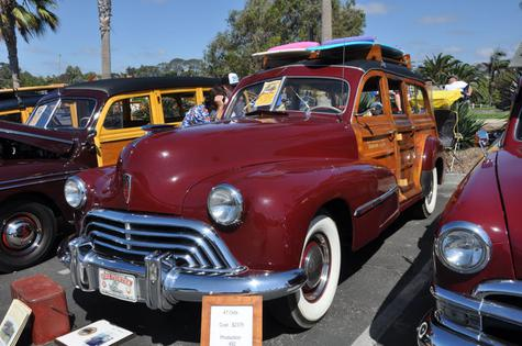 1947 Oldsmobile, Wood body by Hercules Body Company