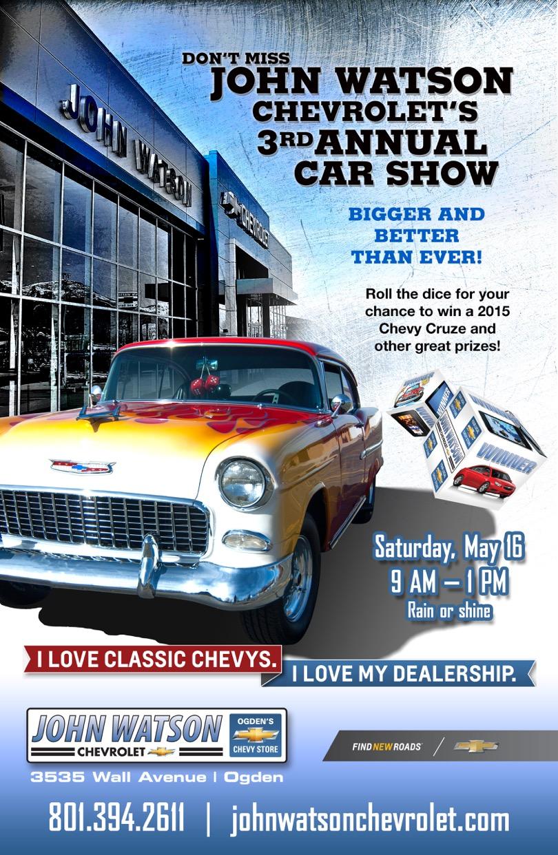 2015 john watson chevrolet car show john watson chevrolet ogden american. Cars Review. Best American Auto & Cars Review