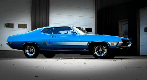 Rob S 429 Scj Powered Torino Gt American Torque Com